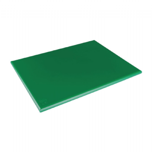 Hygiplas Extra Thick Low Density Green Chopping Board - DM006